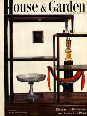 House & Garden Cover - October 1945
