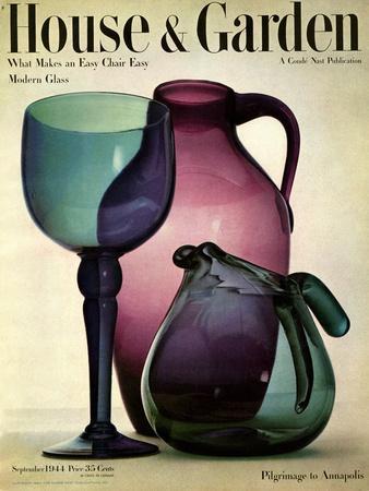 House & Garden Cover - September 1944