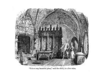 The Old Curiosity Shop, Nell in the Ruined Interior