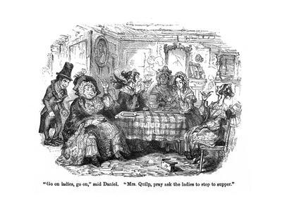 The Old Curiosity Shop, Quilp and the Ladies