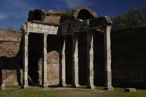 Hadrian's Villa, 2nd Century, Hall with Doric Pillars, Italy
