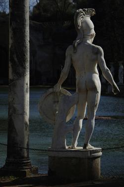 Hadrian's Villa, Statue in the Canopus, God Mars, 2nd Century, Italy