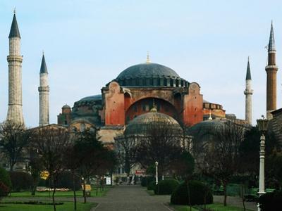 Haghia Sophia, Exterior View, 6th Century