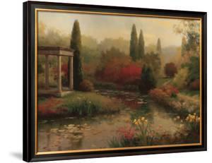 Garden Pond by Haibin