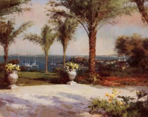 Palm Vista by Haibin