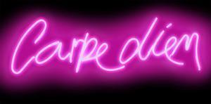 Neon Carpe Diem PB by Hailey Carr