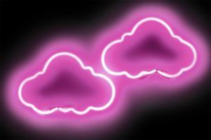Neon Clouds PB by Hailey Carr
