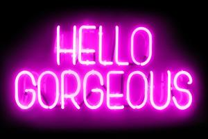 Neon Hello Gorgeous PB by Hailey Carr