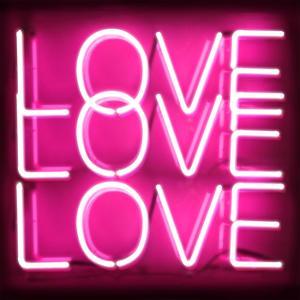 Neon Love Love Love PB by Hailey Carr