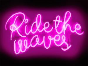 Neon Ride The Waves PB by Hailey Carr