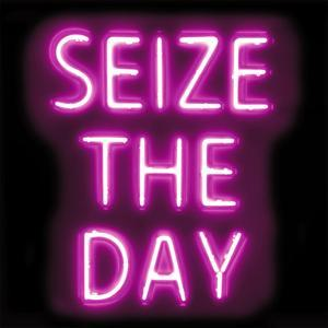 Neon Seize The Day PB by Hailey Carr