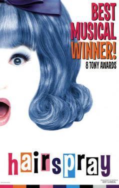 Hairspray - Broadway Poster