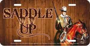 John Wayne Saddle Up by Haiyan