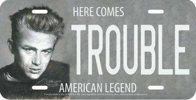 Trouble - James Dean by Haiyan