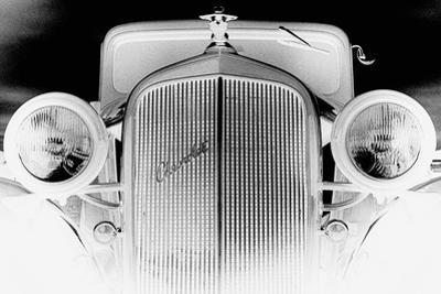 X-ray - Chevrolet Coupe, 1933