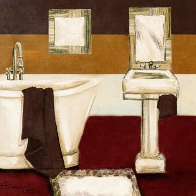 Sunday Bath in Red II