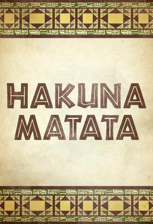 Hakuna Matata African