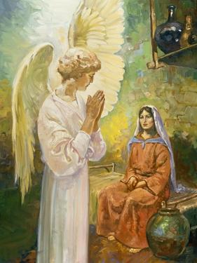 Annunciation by Hal Frenck