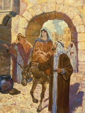 Bethlehem Scene by Hal Frenck