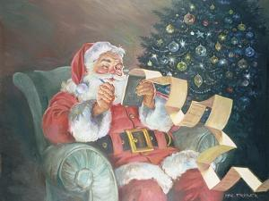 Checking His List by Hal Frenck