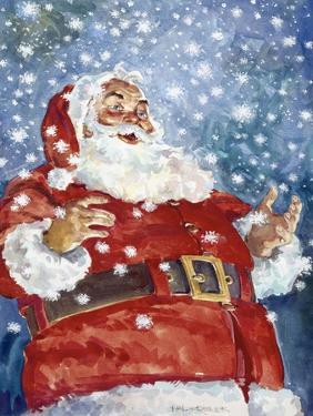 Jolly Santa by Hal Frenck
