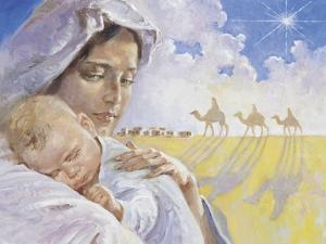 Mary with Baby Jesus by Hal Frenck