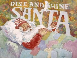 Rise and Shine Santa by Hal Frenck