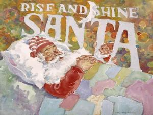 Rise and Shine Santa by Hal Frenck