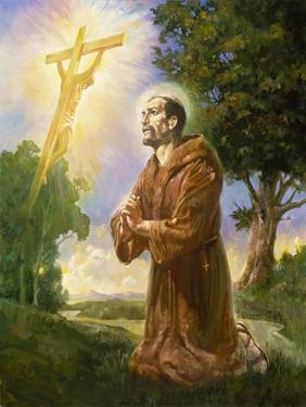 Saint Francis of Assisi by Hal Frenck