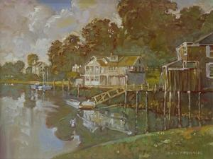 South Port Harbor by Hal Frenck