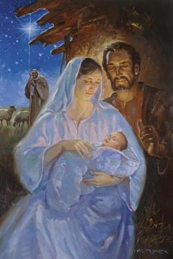 The Holy Family by Hal Frenck