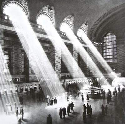 Grand Central Station , New York , 1934 by Hal Morey