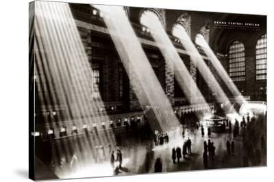 New York, New York - Grand Central Station by Hal Morey