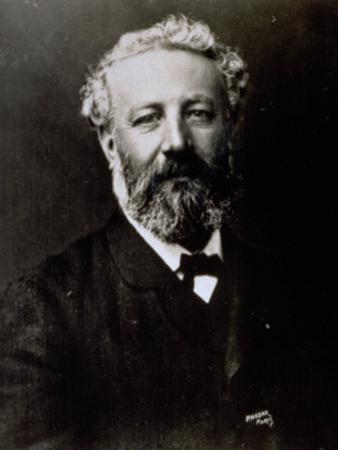 Half-Length Portrait of the Famous French Novelist Jules Verne