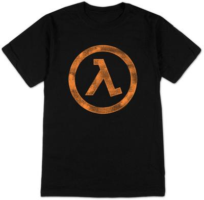 Half Life 2- Distressed Lambda Logo