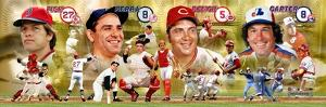 Hall of Fame Catchers Panoramic Photo