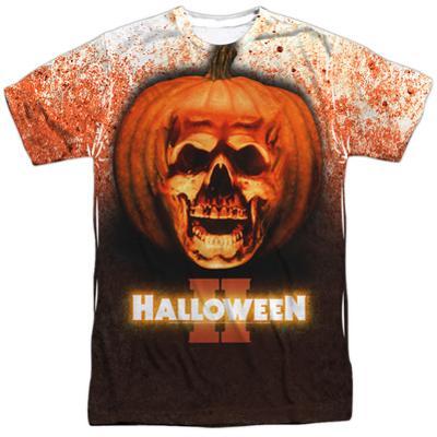Halloween II - Pumpkin Skull