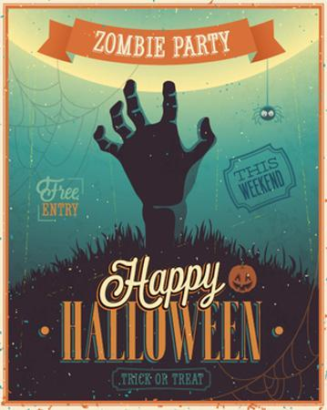 Halloween Zombie Party