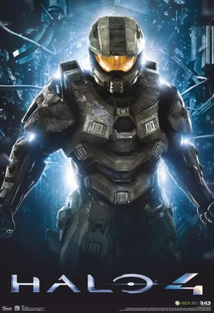 Halo 4 Teaser Video Game Poster