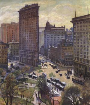 The Flatiron Building by Halpert Samuel