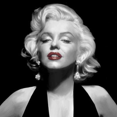 Halter Top Marilyn Red Lips