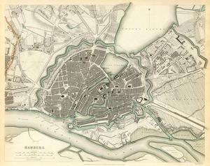 Hamburg, Germany, c.1841