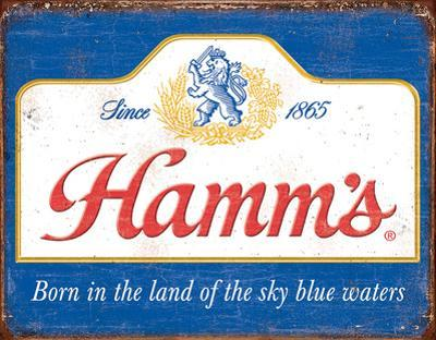 Hamm's - Sky Blue Waters