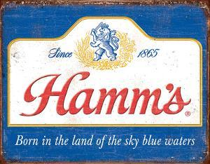 Hamm's - Sky Blue Waters