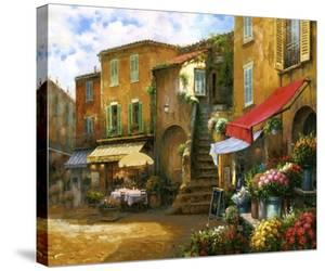 Flower Market Piazza by Han Chang