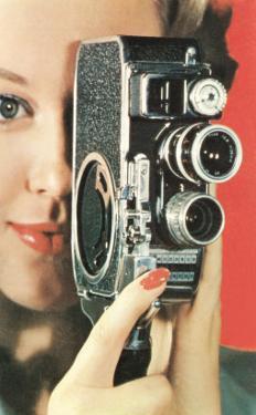 Hand-Held Home Movie Camera
