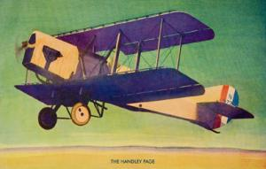 Handley Page Airplane