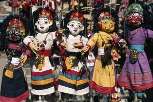 Handmade Puppets in Durbar Square, Kathmandu, Nepal
