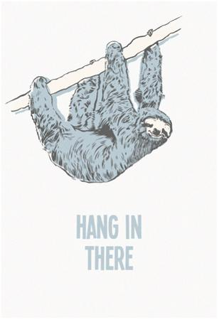 Hang in There- Vertical Sloth