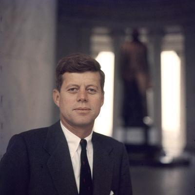 Senator John F. Kennedy Portrait, 1957